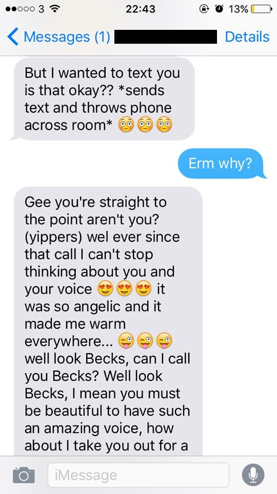 Most Embarrassing Texts