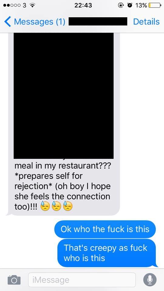 A Restaurant Worker Sent The Most Embarrassing Texts | Sports Bar